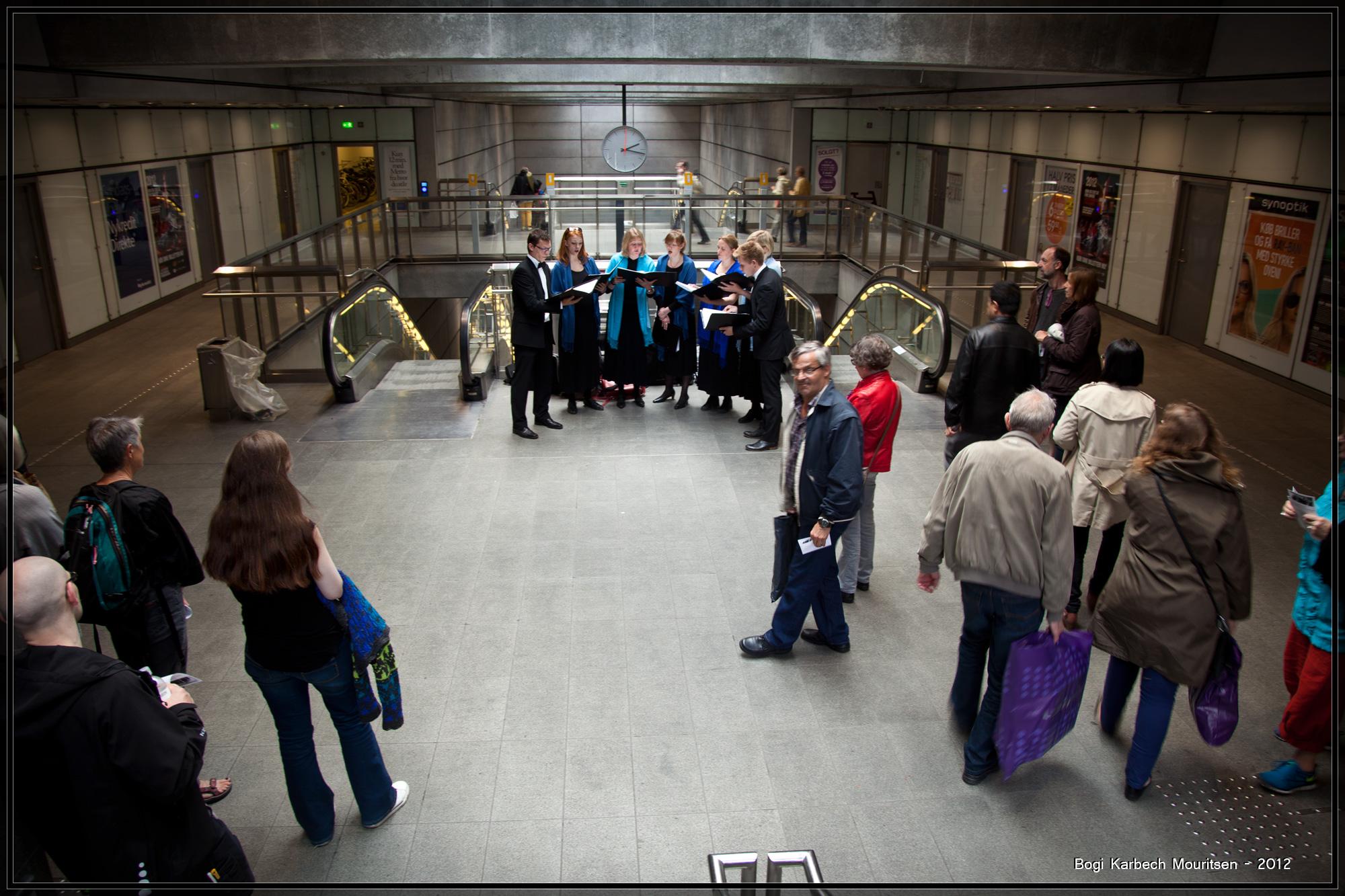 Nørreport Metrostation